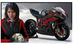 Ducati 749 Destiny in Red by TKtuning