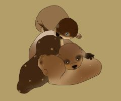 Otter Rescues! by Angel-Creek-Ranch
