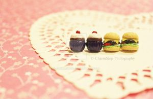 Polymer Clay Stud Earrings by CharmStop