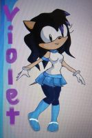 Violet made in Sonic Charrie Maker by chriserony by Spring-violet1