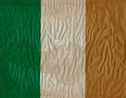 Irish Flag by hassified