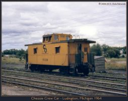 Chessie Crew Car by classictrains