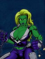 Ultimate She-hulk 2011 by Slayfire