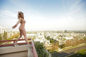 Naked In The City by Ab3rration