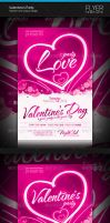 Valentine's Party Flyer by artnook