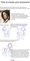 A (sketchy) tutorial on creating a good ponysona! by DragonsAndDreamscape
