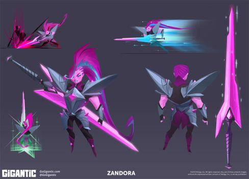 GIGANTIC - Zandora by Gorrem