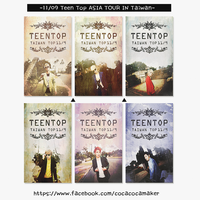 11/09 Teen Top ASIA TOUR IN TAIWAN DESIGN by tauotauomaker