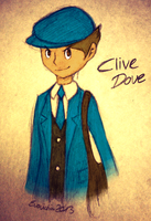Clive Dove in Color by Sorasongz