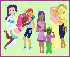 My Little People: Diversity is Magic by songsparrow882