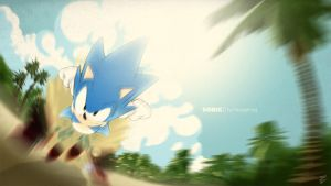 Sonic the Hedgehog by numba-six