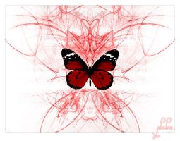 infected butterfly by brainlessinc
