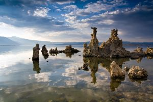 Tufa Sunset by StevenDavisPhoto
