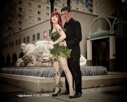 Poison Ivy + Two Face [128] Sacanime W-2013 by zipdodah