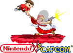Villager vs B.B. Hood Nintendo vs Capcom by Riklaionel
