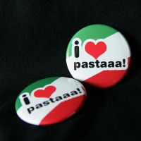 pastaaa!!! hetalia buttons by superorangestudio