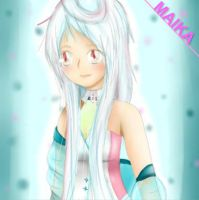Vocaloid Maika by ElectricShine