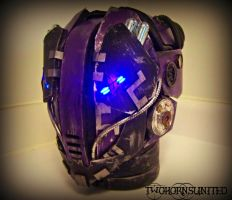 The K-WiR3 Cyberpunk mask by TwoHornsUnited