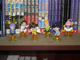 Dragonball Z Figurines by Puja723