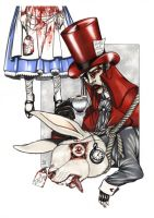 THE MAD HATTER by Zoe-Lacchei