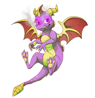Spyroooo by dRaWiNgWiThHeArT