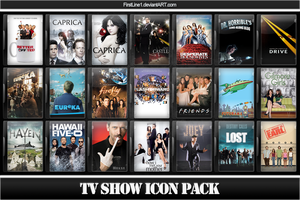 TV Show Icon Pack 1 by FirstLine1