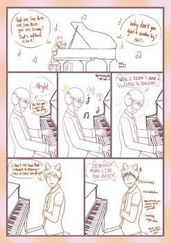 ~LA~ (Old Comic) How Not to Teach Piano by Azlissian