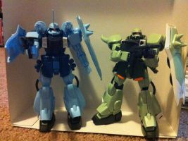 Zaku Bros by DarthDizzle