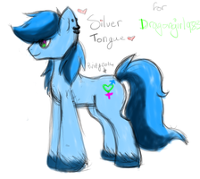 Gift: Silver Tongue by Pinipy