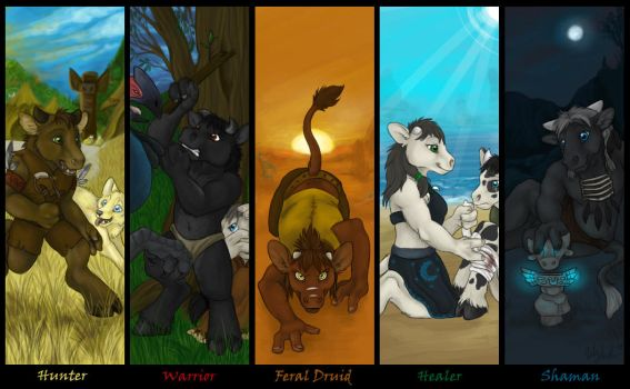 Choose your class by CunningFox