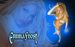 Emma Frost by Greg Horn by Superman8193