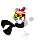 Evil dumby cutie with a scarf! (Took off MC!) by PuppyinmypocketSmash