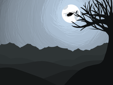 Owl City- Helicopter Moon Wallpaper by Wolfie-Forever