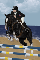 .:On the Beach:. by RvS-RiverineStables