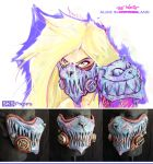 Wasteland Alice Cosplay Cheshire Cat Mask SKSProps by SKSProps