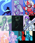 Palette Game - February 2015 by cinderhawk