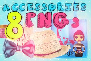 8 PNGs accessories by agusmp