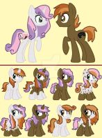 Sweetie Belle x Button Mash CLOSED! by TheWingedSkeleton