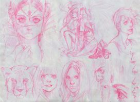 Sketches Sketches Sketches by Sami06
