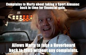 Back to the Future - How is it different? by codebreaker2001