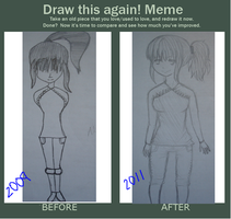 Then and Now Meme by SilverWinge