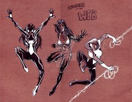 Women of the Web by hdub7