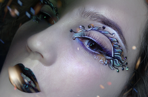 Pisces Makeup by KlairedeLys