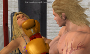 Right on the Chin - Mixed Boxing by MixedBoxingArt