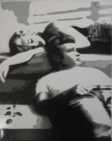james dean and marilyn monroe by Igotthegoodness