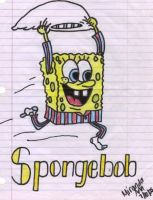 Spongebob Squarepants by AxBeautifulxLie9