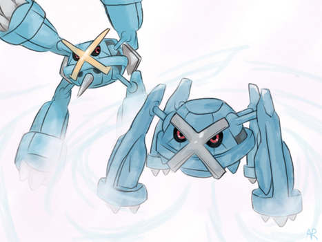 Metagross by UltimateUmbreon3