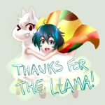 Thanks for the Llama!!!!!!!! by AO-RY