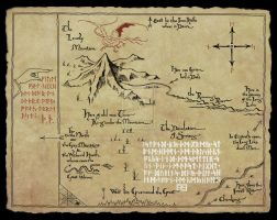 Map Hobbit by bibka9970