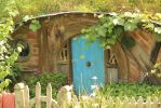 hobbit door stock 2 hobbiton lord of the rings by Laternamagica-studio